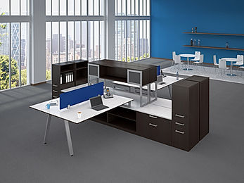 BD25C: 2 person workstation