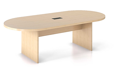 CT02.4A: 6' Race track shaped conference table