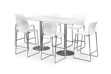 """MPT05B: 30"""" Cafe Height Table"""