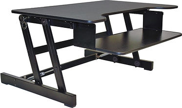 SS02B: Sit Stand Desk Riser