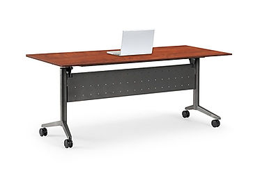 CT04.7A: Flip-top nesting table
