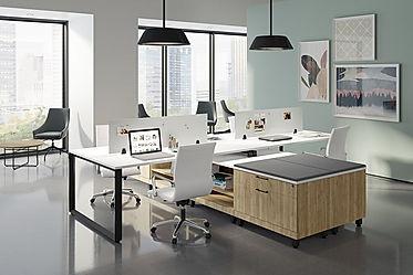 BD46A: 4 person workstation
