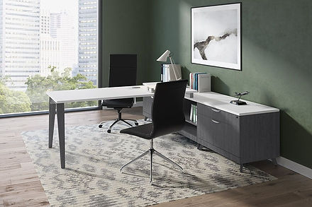 L14.5A: L-desk workstation