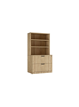F04C: 2 drawer lateral file