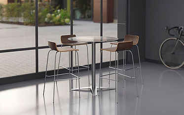 """MPT05A: 36"""" Round Cafe Height Table"""