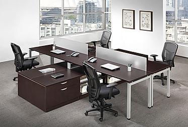 BD40A: 4 person workstation