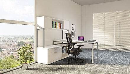 L12.6A: L-desk workstation
