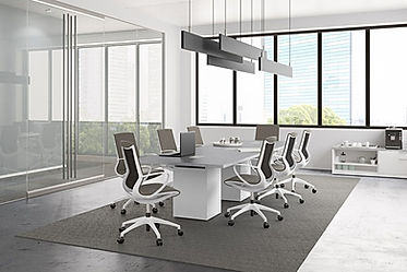 CT08.8A: 12' rectangular conference table