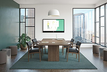 CT05.9A: 8' rectangular conference table