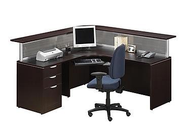 R10A: Single reception workstation