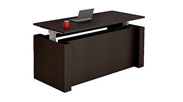 SS10A: 30 x 72 electric sit/stand desk.