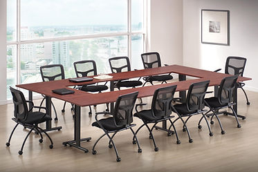 CT11.3A: 8' x 12' Flextable laminate conference table