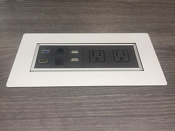 CT02.7B: Conference table power data module