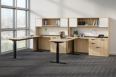 SS15A: 24 x 72 electric sit/stand worksurface