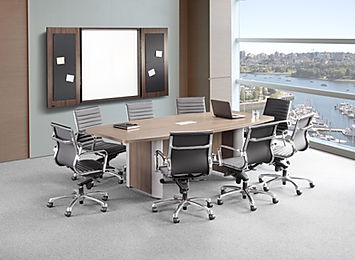 CT06.1A: 8' Boat laminate conference table