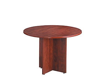 "MPT01B: 36"" Round Table with Cross Base"
