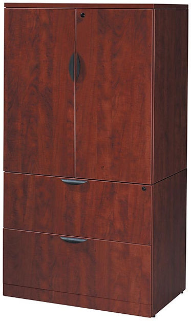 F06B: Storage cabinet with lateral cabinet