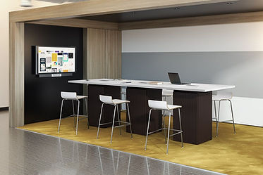 CT10.2A: 12' Cafe height conference table