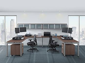 BD23B: 2 person workstation