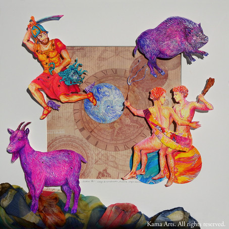 Zodiac Signs VII Chinese vs. European