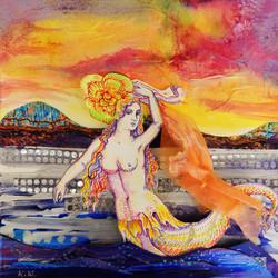 Hudson River mermaid