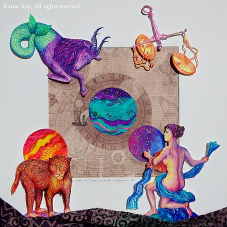 Zodiac Signs IX Chinese vs. European