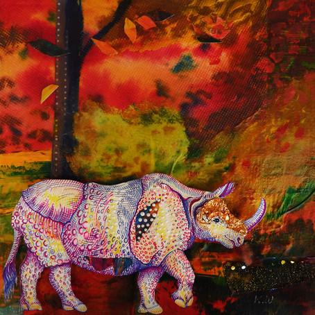 Dali's Rhinoceros