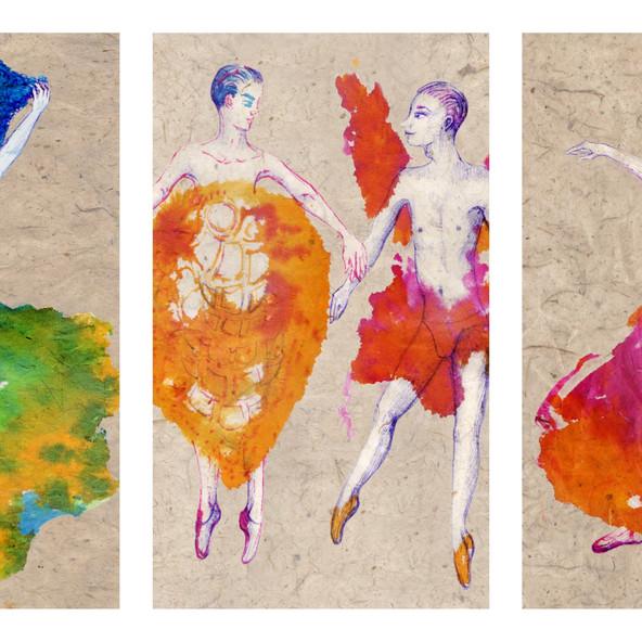 Dancers from Garden of Earthly Delights