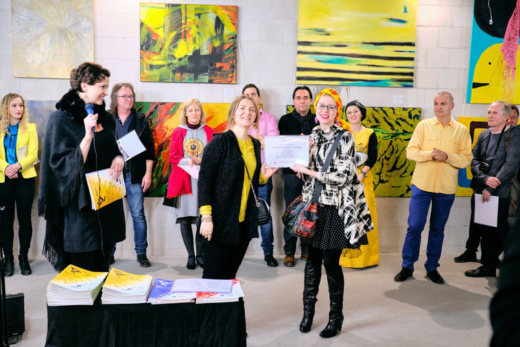 Power of Art: Yellow Exhibition