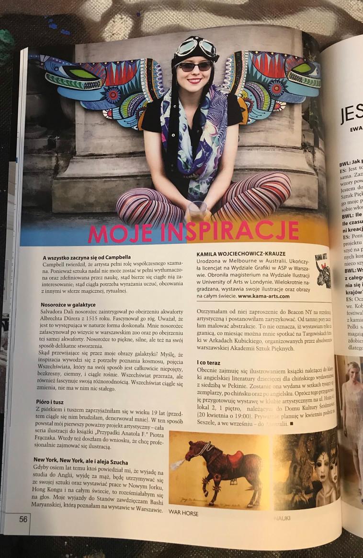 Interview in Businesswoman&Life magazine