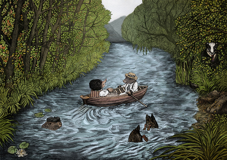 It's Wind in the Willows!