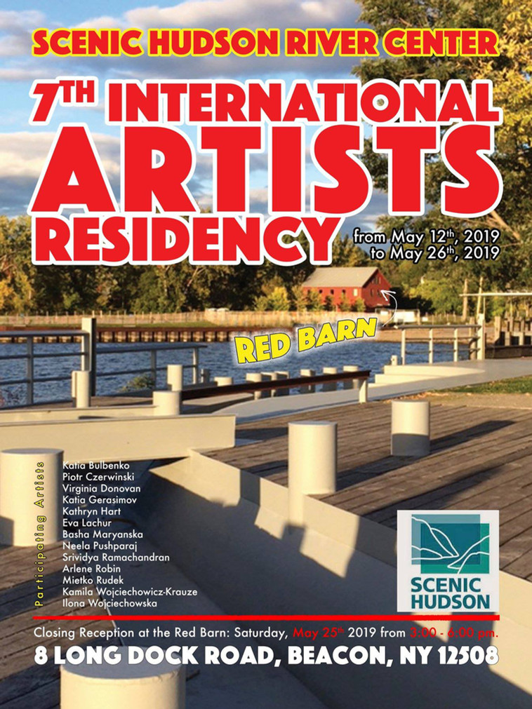 Artist Residency in Beacon 2019