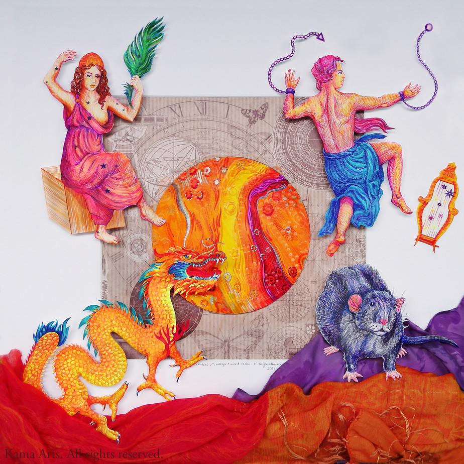 Zodiac Signs IV Chinese vs. European