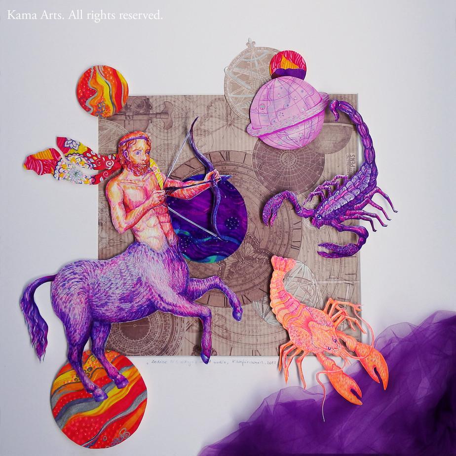 Zodiac Signs II Chinese vs. European