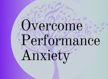 Overcome Performance Anxiety