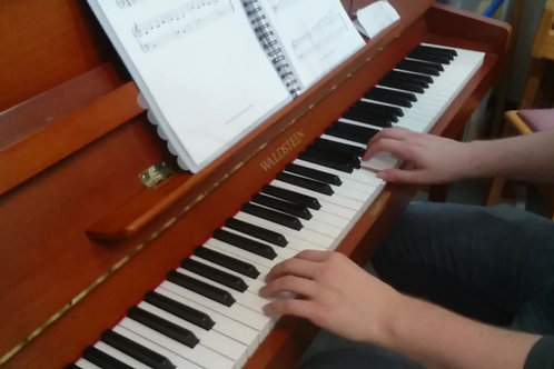 Tramp in the Station - Elementary Piano