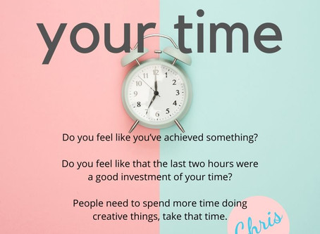 Time #thursdaythoughts