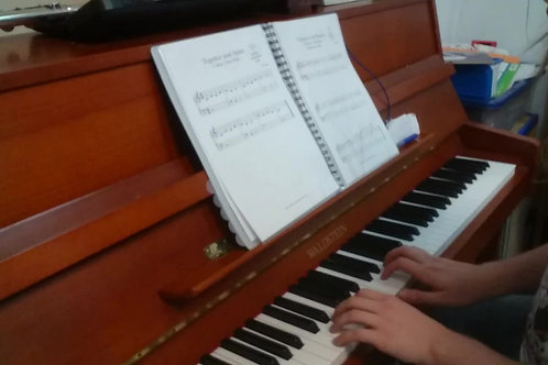 Together and Apart - Elementary Piano