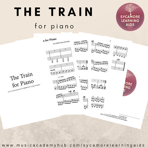 The Train for Piano by C.L. Caton-Greasley