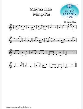 Ma-ma Hao Ming-Pai