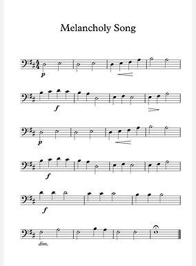 A Melancholy Song