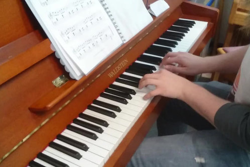 Waltzing With a Ghost - Elementary Piano