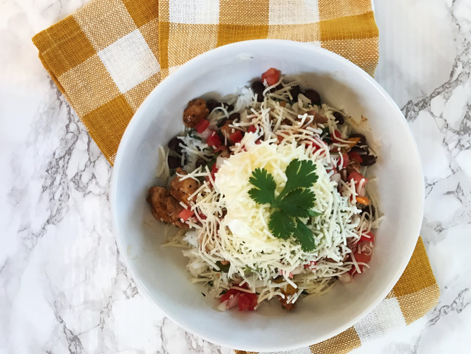 Move Over Chipotle! At-Home Burrito Bowl
