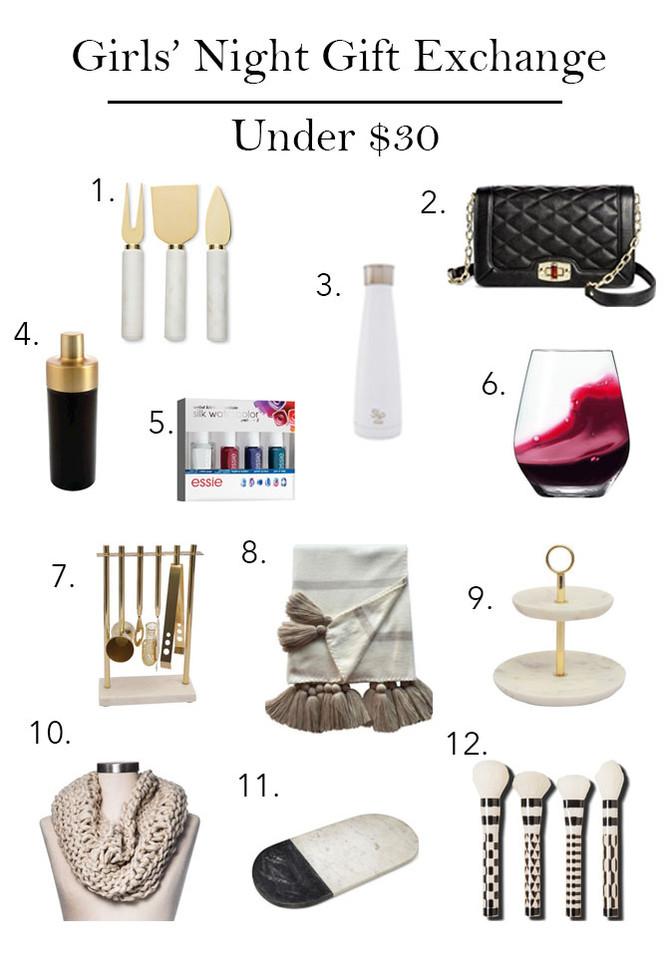 Gift Guide: Girls' Night Gift Exchange