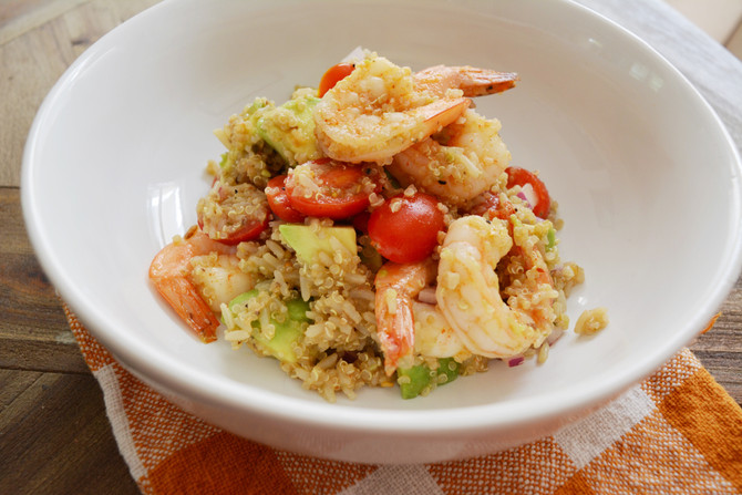 Shrimp & Quinoa Salad