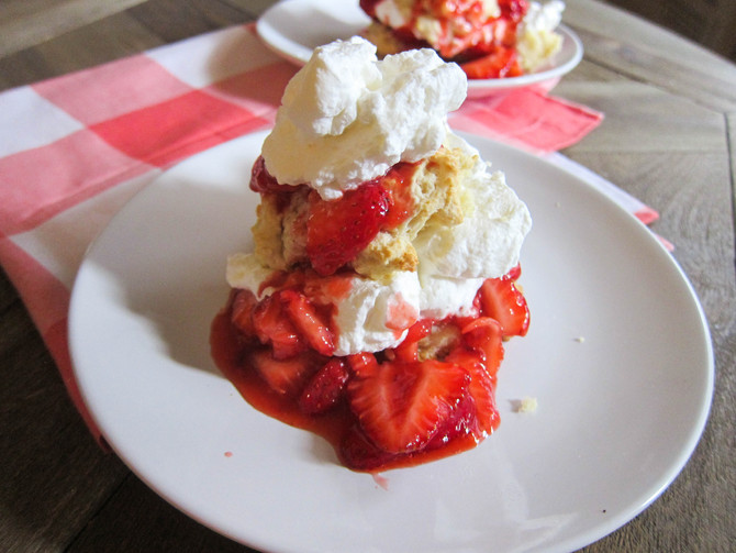 Quick & Easy Southern Strawberry Shortcake