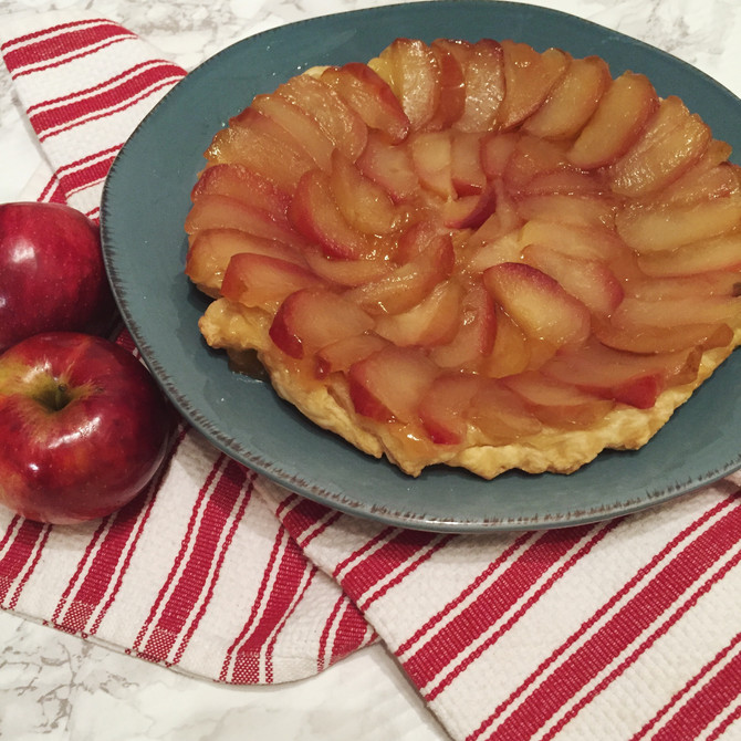 The Perfect Apple Tarte Tatin