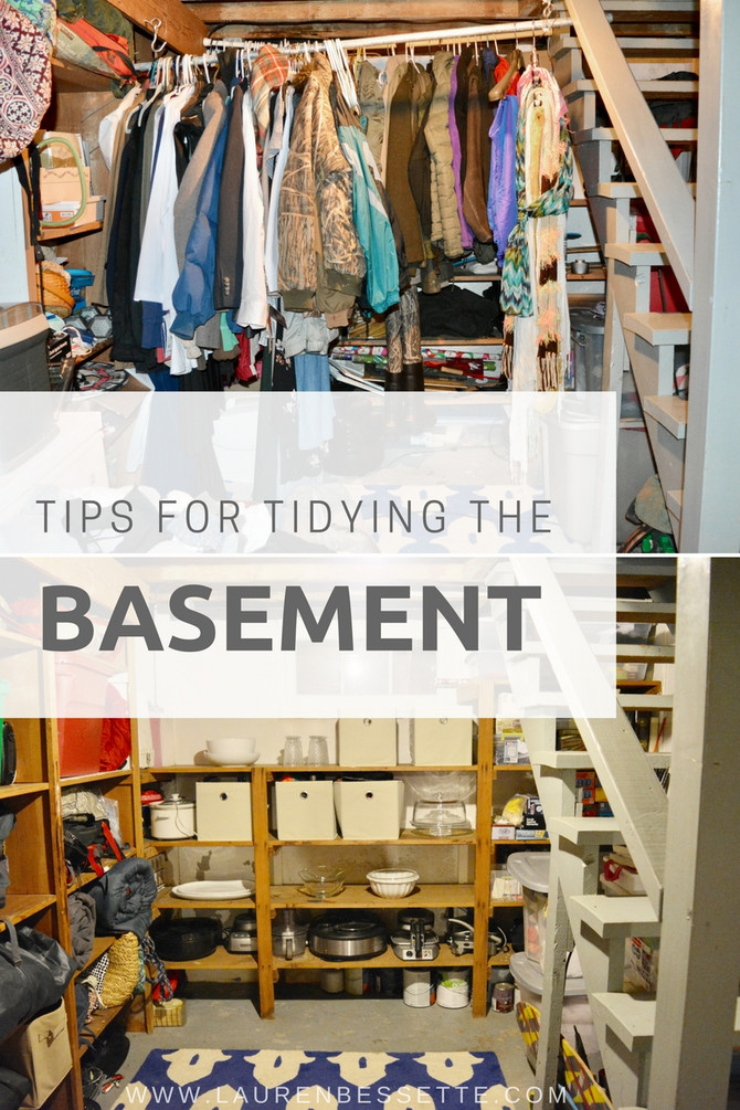 Tips For Tidying The Basement