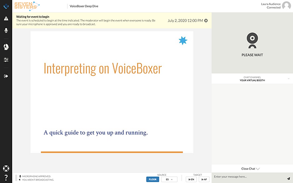 VoiceBoxer Practice Join