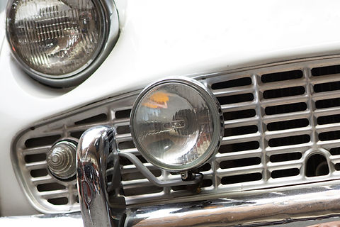 Vintage Car Lights